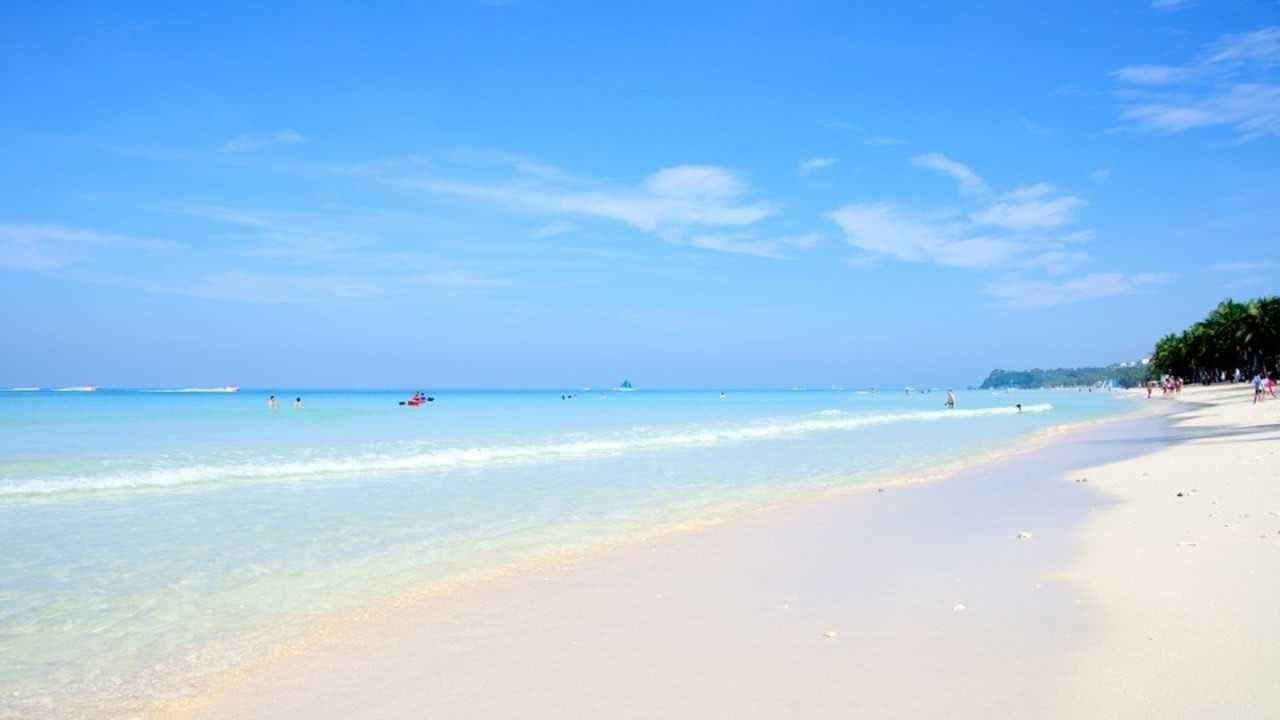 ボラカイ島の環境汚染対策 フィリピン